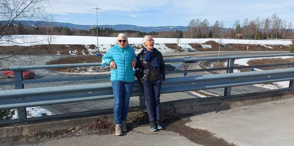 Anne Kathrine Løge og Dagny Nyfelt
